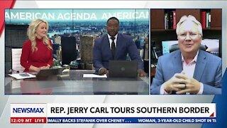 REP. JERRY CARL TOURS SOUTHERN BORDER