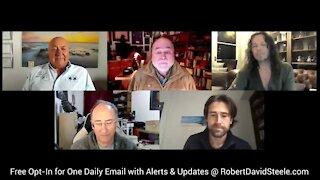 Robert David Steele, Sean Stone, Charlie Ward Simon Parkes, Sacha Stone Overview 02.02.21