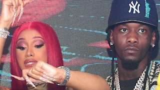 Cardi B's Husband Offset DETAINED By Police During Trump Rally In Beverly Hills