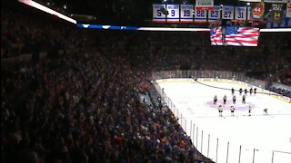 Entire Islanders Crowd Singing The National Anthem Will Give You Chills