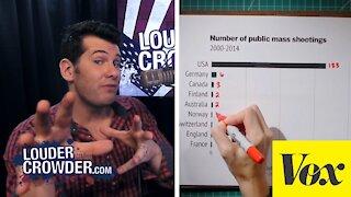 Louder with Crowder: Vox Rebuttal - Gun Control Propaganda Debunked