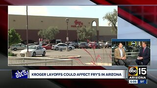 Kroger layoffs could affect Fry's in Arizona
