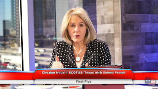 Election fraud @ SCOTUS: Texas AND Sidney Powell