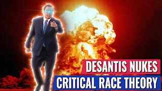 """DESANTIS NUKES CRITICAL RACE THEORY: """"ITS OFFENSIVE TO TEACH KIDS TO HATE THEIR COUNTRY"""""""