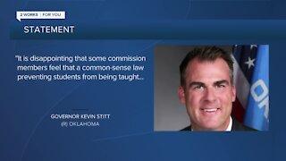 Gov. Stitt responds to letter from Tulsa Race Massacre Commission