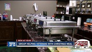 Veterans receive Christmas dinner from Tulsa's Coffee Bunker