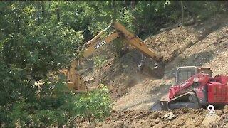 North Avondale residents launch construction project to halt devastating landslide