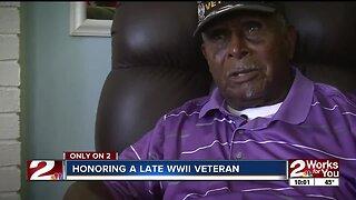 Honoring a late WWII veteran