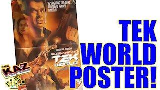 Tek World Comic Book Poster