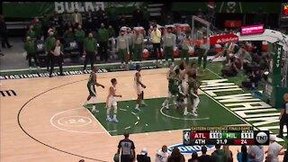 Bucks fall to Hawks 116-113 in Game 1