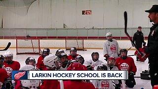 Larkin hockey school is back