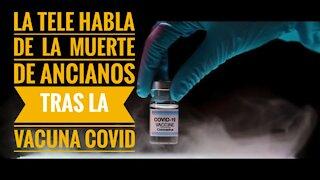 Muerte tras vacuna Covid, hasta la TV lo dice