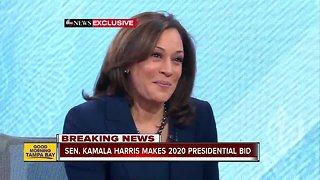 Sen. Kamala Harris announces she will run for president in 2020
