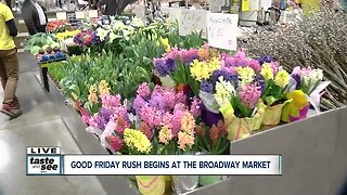 Wake up and smell the flowers at the Broadway Market