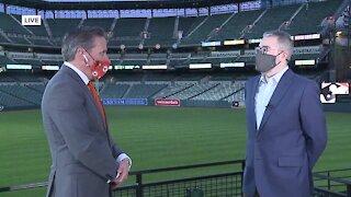 Greg Bader Interview (Orioles)