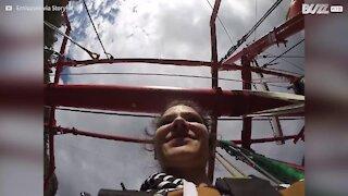 Un'esperienza di bungee jumping vista con una GoPro!