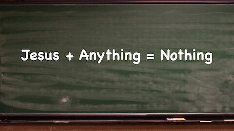 """""""Jesus + Anything = Nothing"""" Worship Service"""