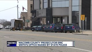 Michigan State Police execute search warrant at Macomb Co. Prosecutor's Office