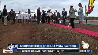 Groundbreaking on Chula Vista Bayfront