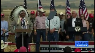 The Crow Nation is behind Trump