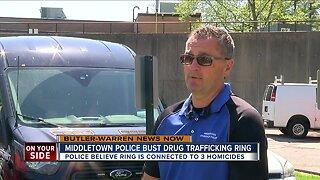 Middletown police bust drug trafficking ring