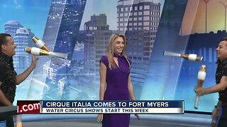 Cirque Italia touring through Southwest Florida