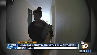 Kensington neighbors frustrated with package thieves