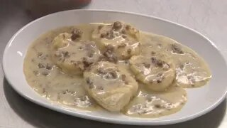 How to Make Biscuits and Gravy   It's Only Food w/Chef John Politte