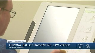 Appeals court throws out Arizona ballot harvesting law