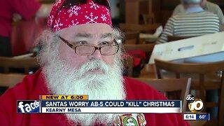 Santas worry AB-5 could 'kill' Christmas