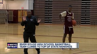 River Rouge basketball aiming for state title