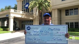 Steve's Ride: ADT donates $10,000 to Red Cross