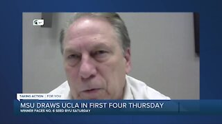 Michigan State to face UCLA in NCAA Tournament First Four