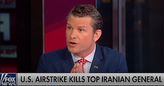 Pete Hegseth on leftist critics of Soleimani strike: The amount of hatred for Trump is 'disgusting'