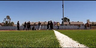 Clark HS gets new football field previously highlighted by 13 Investigates