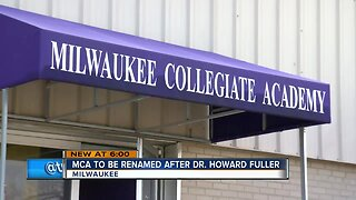 Milwaukee Collegiate Academy renamed to honor Dr. Howard Fuller