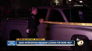 Gang intervention experts looking for more help
