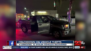 Kern County cracks down on vehicle thefts