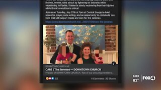 Man who helped couple struck by lightning speaks out