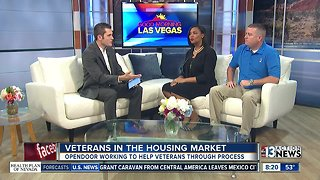 Veterans and the housing market