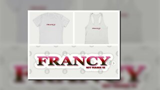 FRANCY. MY NAME IS FRANCY. SAMER BRASIL (TEEPUBLIC)