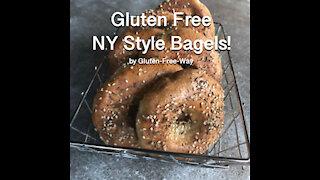 Gluten Free New York Style Bagels!