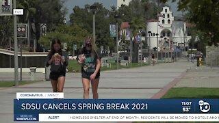 SDUS cancels spring break 2021