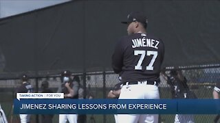 Joe Jimenez sharing lessons from experience