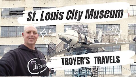 St. Louis City Museum with Troyer's Travels!