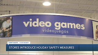 Retailers roll out new in-store safety measures ahead of holiday shopping