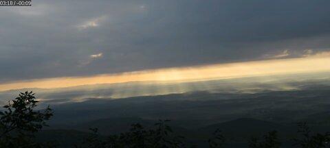 Incredible Sunrise at World's Edge, NC