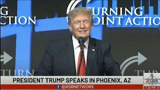 Trump Hits Arizona 2020 Election: They Cheated