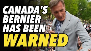 Canada's Bernier warned not to campaign. Faces $100,000 fine & more jail time