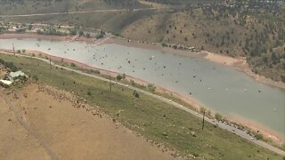 Trump supporters hold boat parade on Horsetooth Reservoir